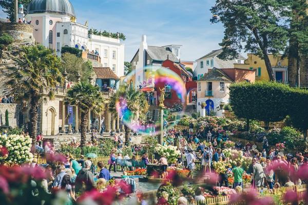 Caught in the bubble (Image Courtesy Festival No 6)