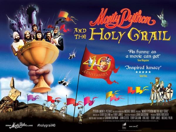 Monty Python Holy Grail Poster