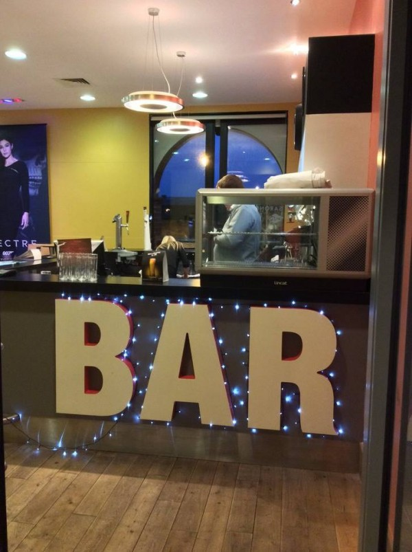 SPECTRE Cocktails and Mocktails at Saronies (Image Courtesy Scala Cinema, Prestatyn)