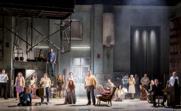 WNO Sweeney Todd. Company. Photo credit - Johan Persson.