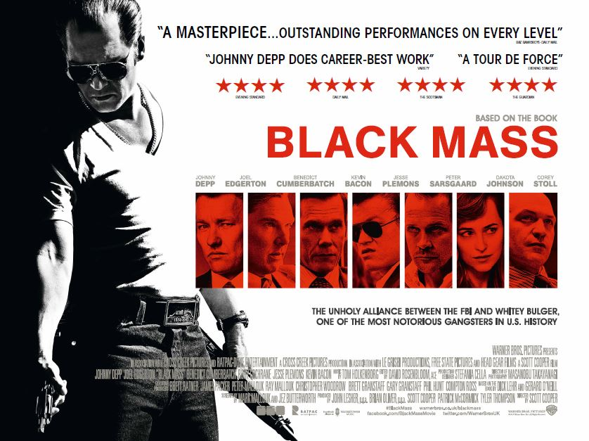 Black Mass Gets a March Release Date on DVD/Blu-ray
