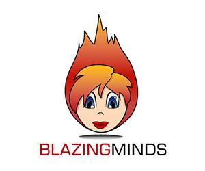 Blazing Minds logo 300x250