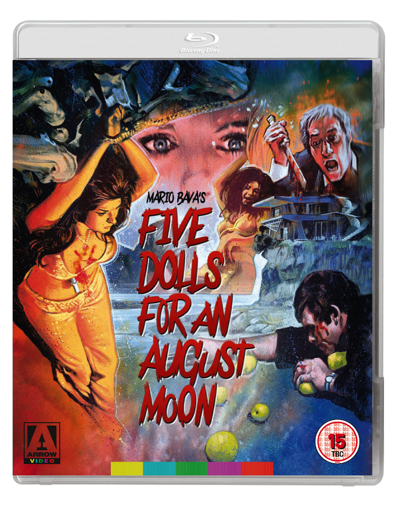 Five Dolls for an August Moon – DVD Release