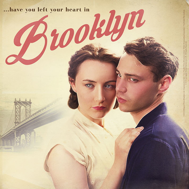 Brooklyn Retro Poster