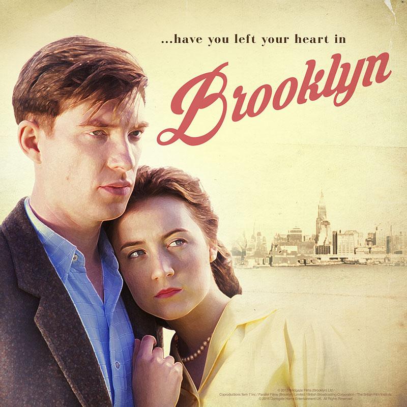 Brooklyn Retro Poster