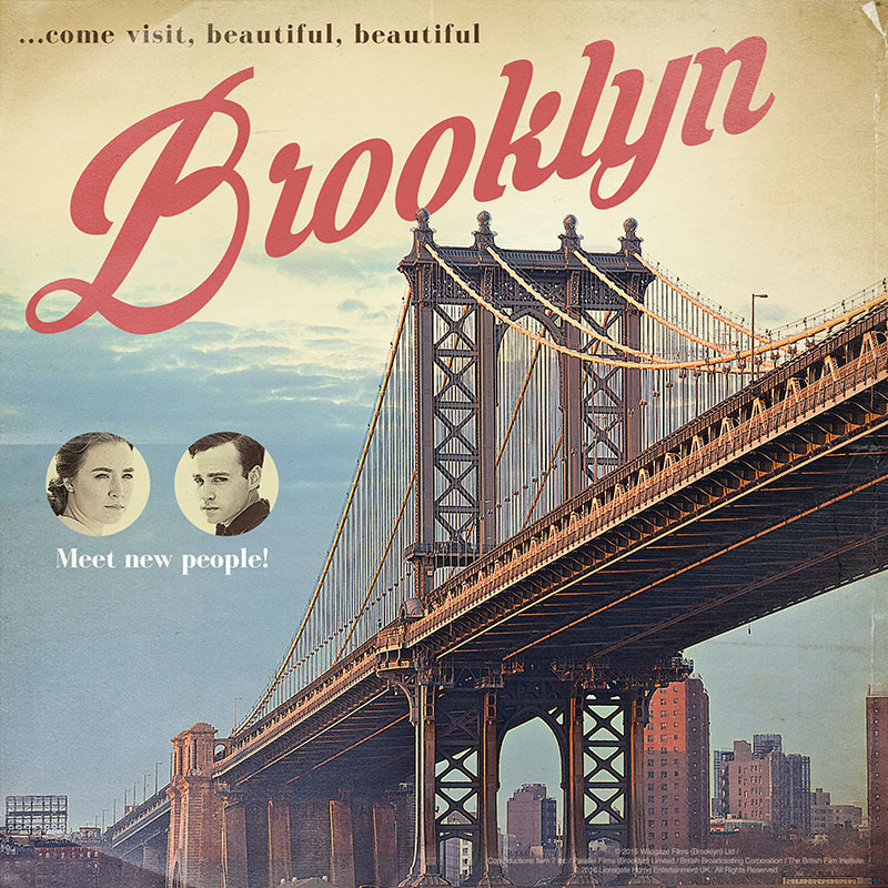 Brooklyn – Retro Posters