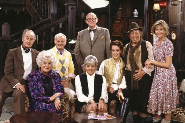 Grace & Favour Cast Shot
