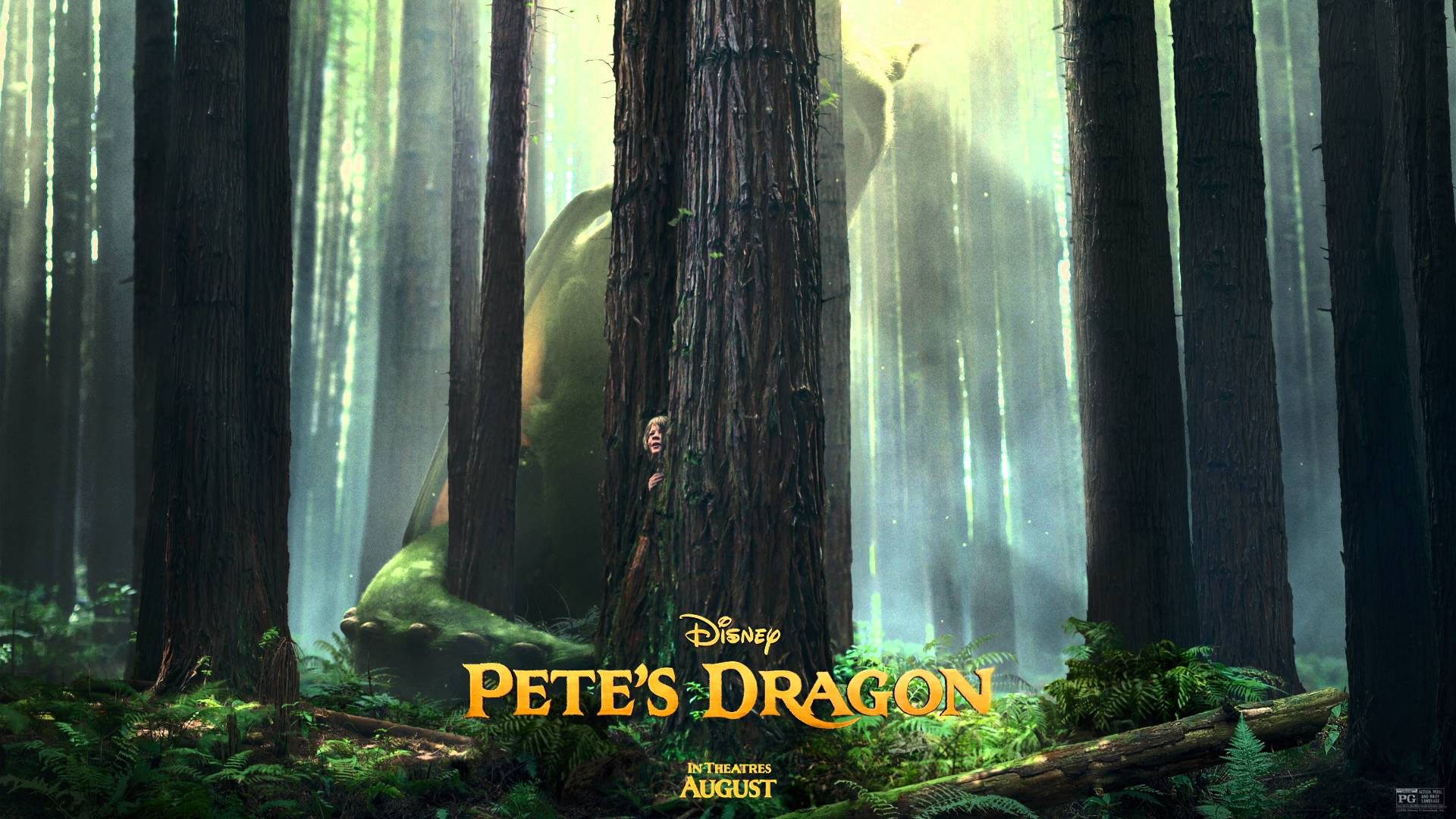 Pete's Dragon Poster 2016