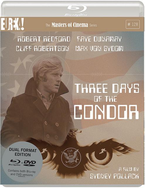 three days of the condor - dvd dlu-ray