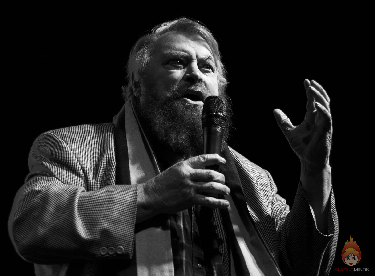 Photographing Brian Blessed, Eve Myles and Kai Owen at SFW7