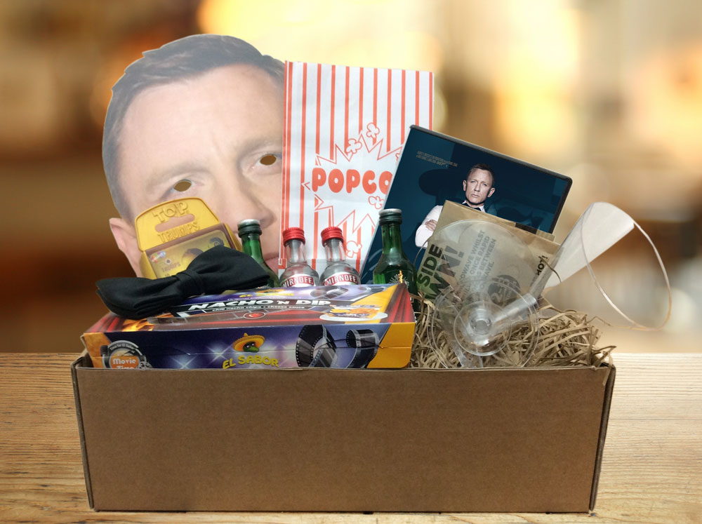 GiftAlien Bring You A Movie Night In, Shaken Not Stirred