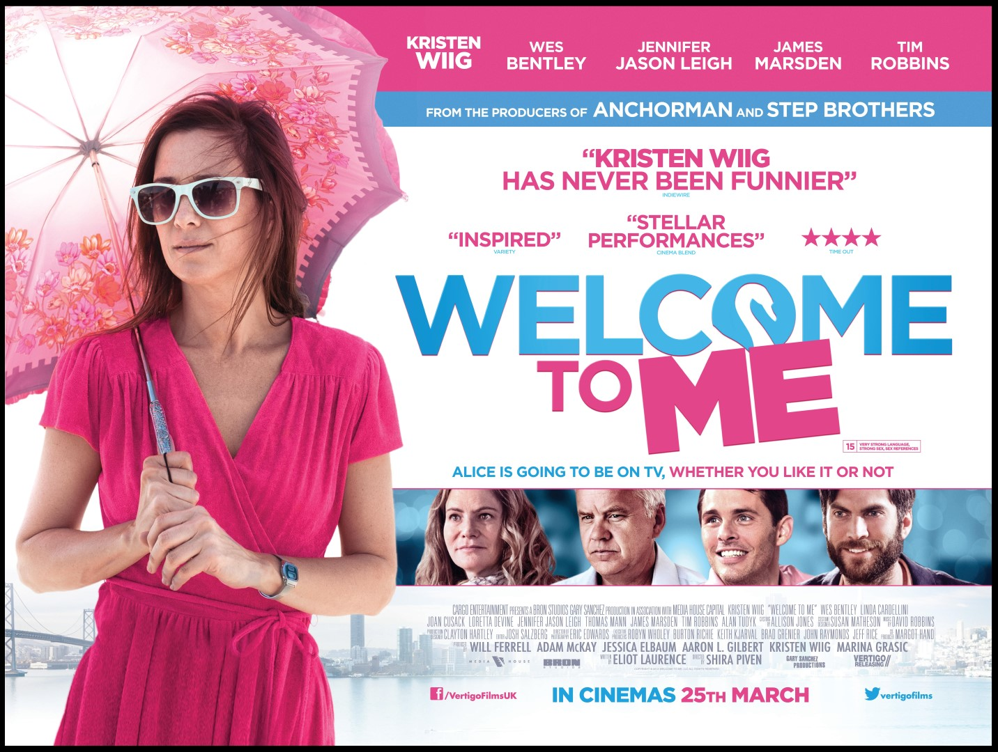 Welcome To Me Starring Kristen Wiig – Movie Review