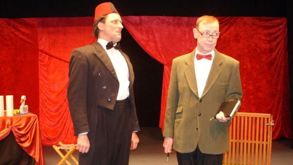 Daniel Taylor & Gareth Jones as Tommy Cooper & Miff Ferrie small