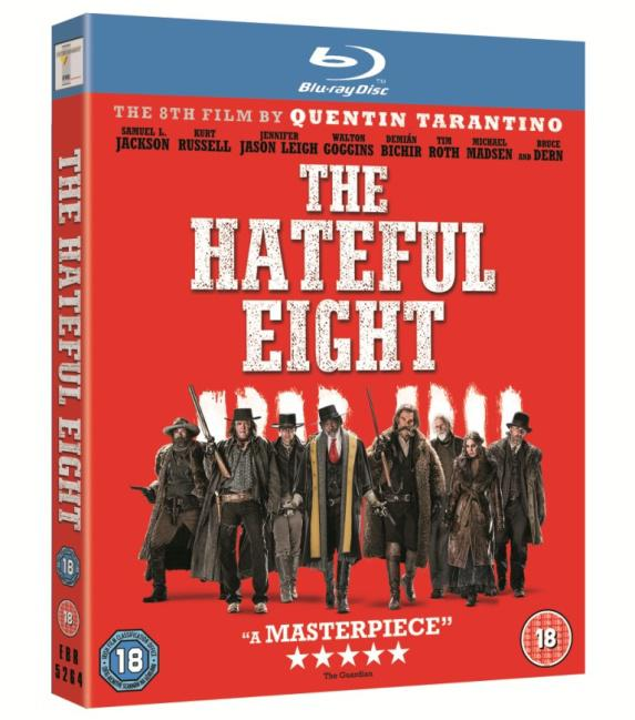 Hateful Eight Blu-ray
