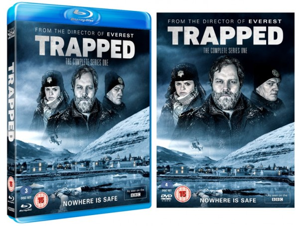 TRAPPED on DVD and Blu-ray Monday 11th April