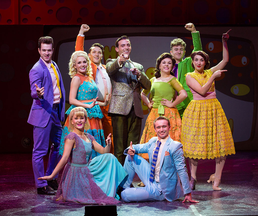 The cast of Hairspray. (Credit Darren Bell)