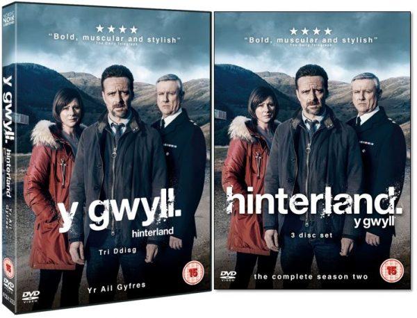 HINTERLAND DVD 2D & 3D ENG & WELSH