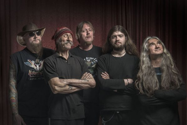 HAWKWIND PHOTOGRAPHED AT WINTER GARDEN EASTBOURNE