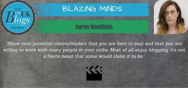 blazingminds one of the 10 Best UK Blogs