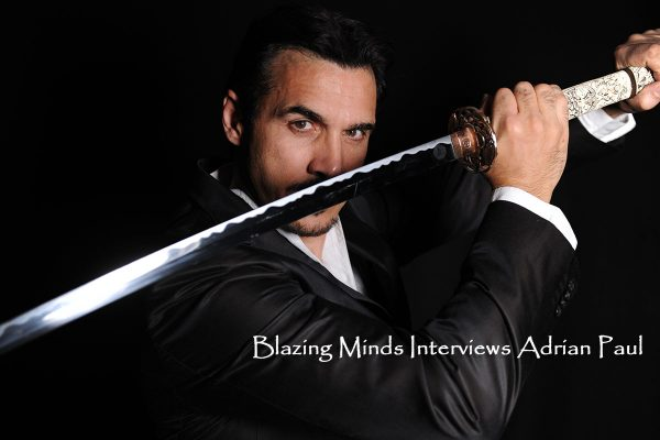 Blazing Minds Interviews Adrian Paul