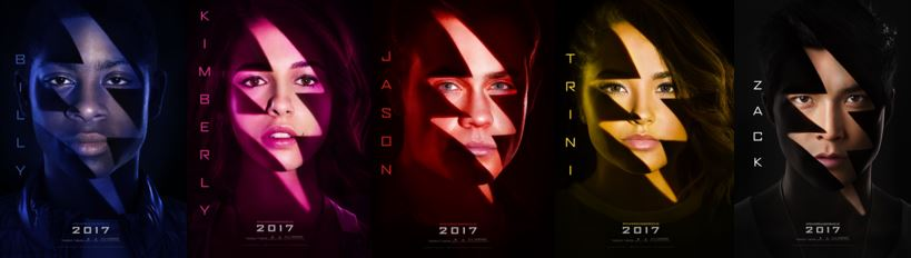 Power Rangers Character Posters Announced