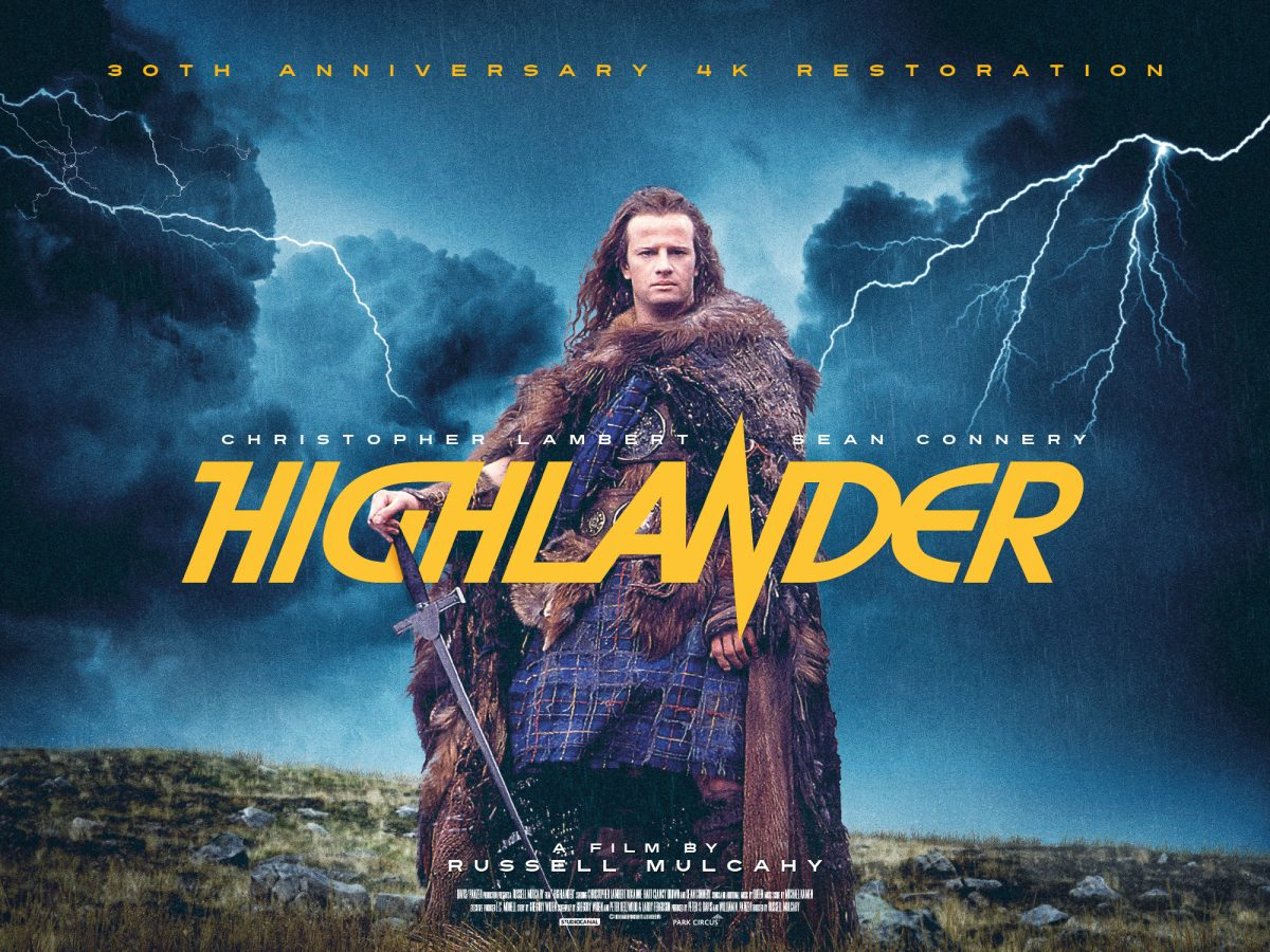 Highlander Digitally Restored for its 30th Anniversary – Review