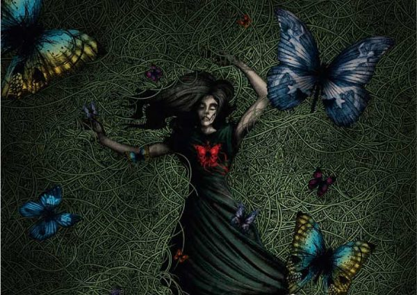 BLOODSTAINED BUTTERFLY New