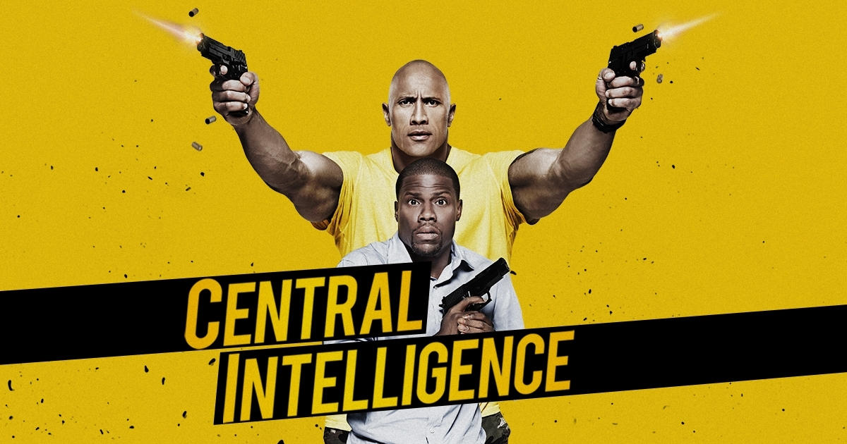 HART and JOHNSON Crash on to DVD/Blu-ray in Central Intelligence