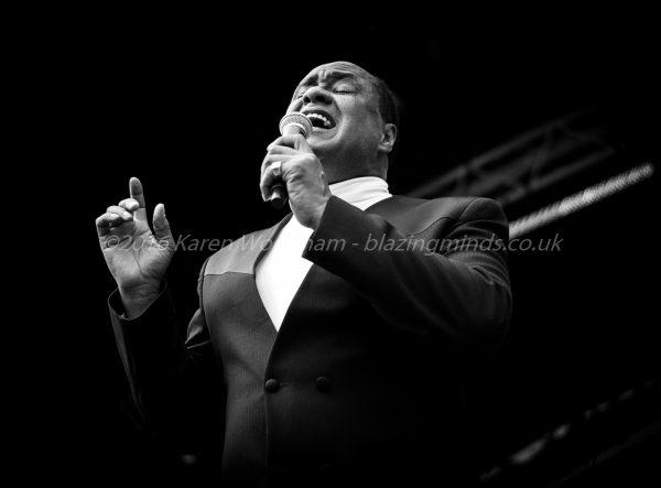 Ray Lewis brings his style of Soul music to Rhyl at Seaside Pride