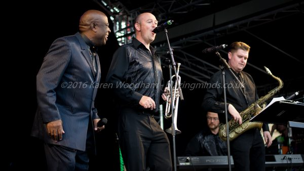 Jimmy James and the Vagabonds at Seaside Soul - Rhyl Events Arena (photo ©2016 Karen Woodham/Blazing Minds)