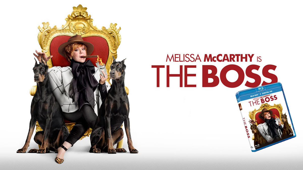 Melissa McCarthy's THE BOSS is heading on to Blu-ray/DVD