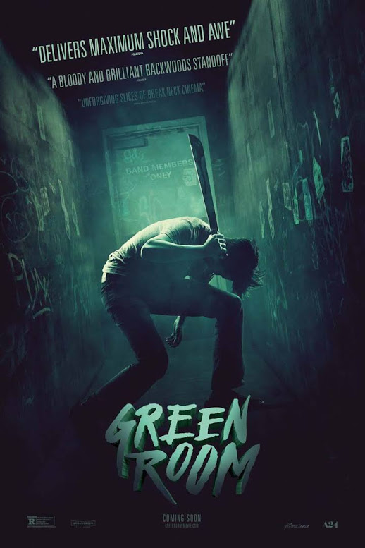 """""""Green Room"""": Code Red in The American Pacific Northwest."""
