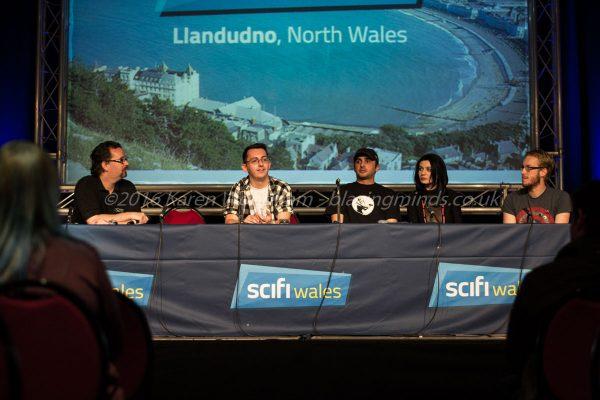 2Kill Comic Q&A with Stuart Bannerman at SciFi Wales 2016
