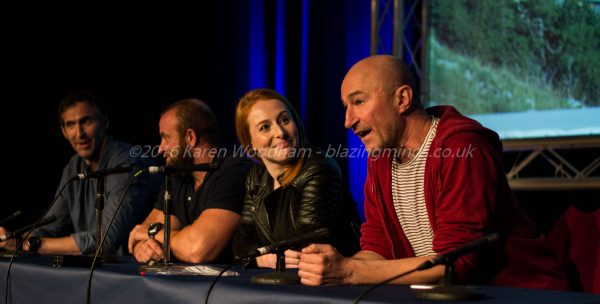 Cast of Game of Thrones during their Q&A