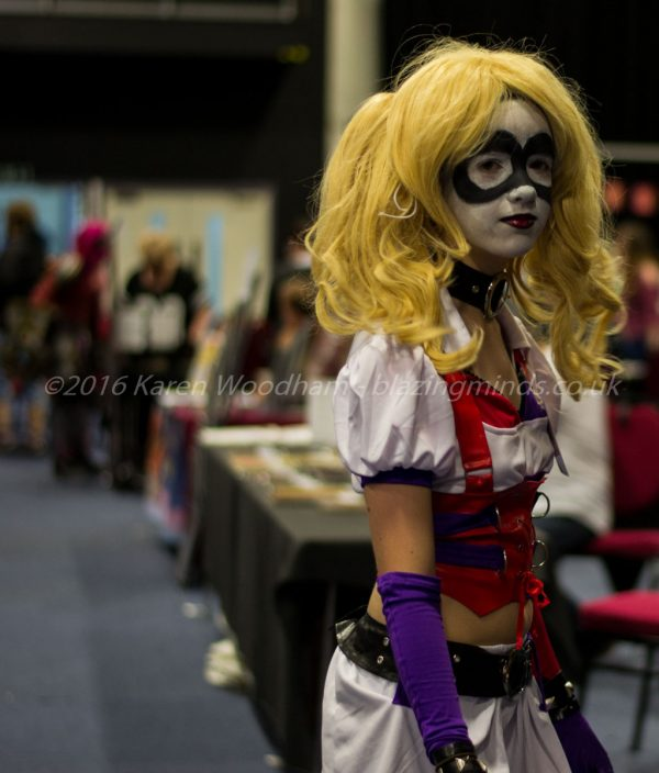 Harley Quinn makes an appearance at SciFi Wales 2016