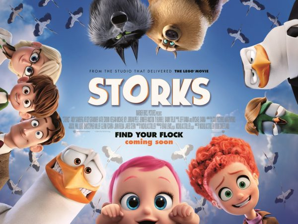 Win Storks Movie Merchandise with Blazing Minds