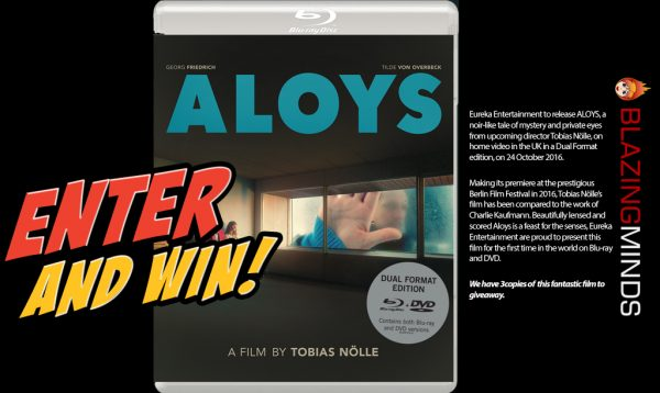 ALOYS Dual Format Blu-ray/DVD Giveaway with Blazing Minds