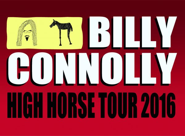 billy connolly high horse tour 2016