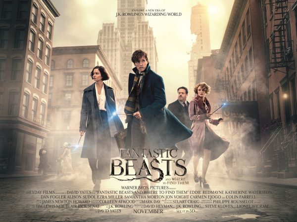 Fantastic Beasts and Where to Find Them (main artwork quad)