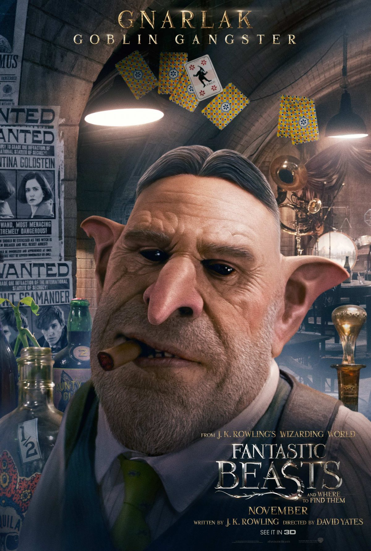 Meet the Characters for Fantastic Beasts in These New Movie Posters