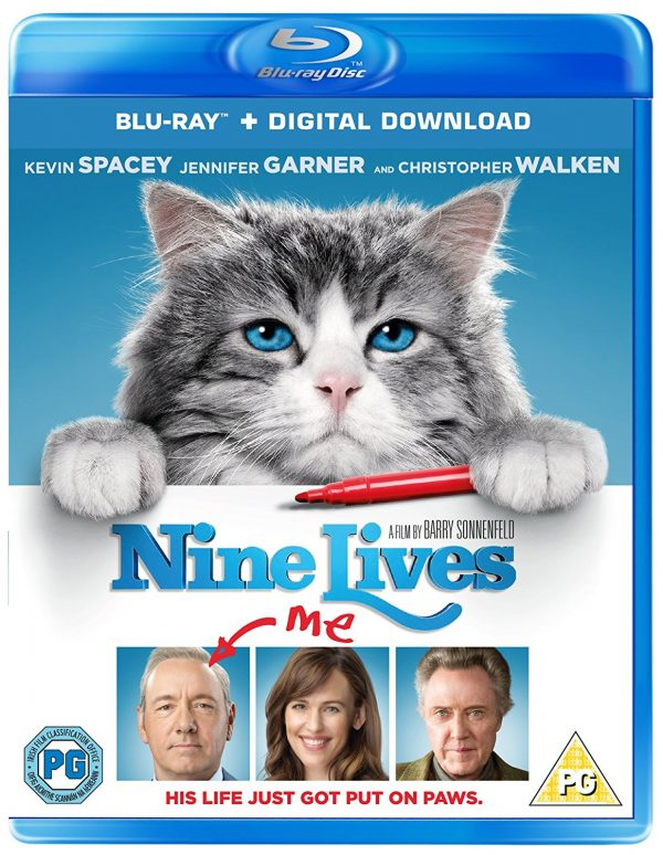 mr fuzzypants stars in nine lives blu-ray release date