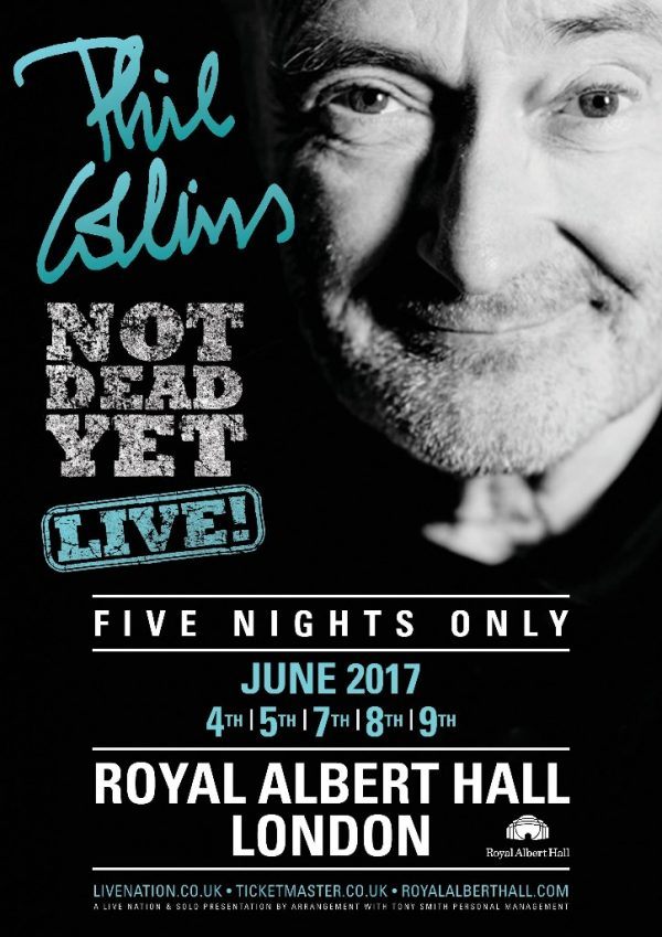 Phil Collins - No Yet Dead: Live Tour at the Albert Hall