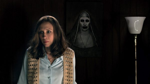 The Conjuring 2 - Vera Farmiga and the Terrifying Nun (Courtesy of Warner Bros. Pictures)