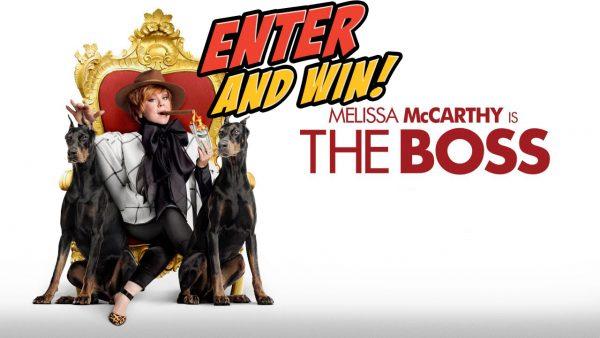 Win The Boss starring Melissa McCarthy on DVD