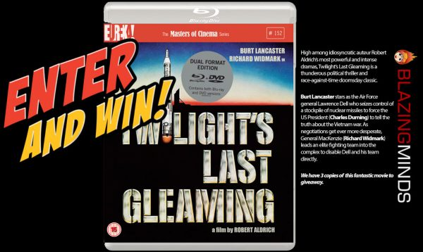 Win Twilight's Last Gleaming on Dual Format Blu-ray/DVD