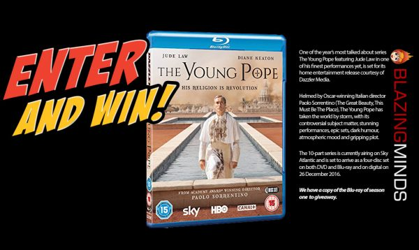 Win Series 1 of The Young Pope on Blu-ray with Blazing Minds