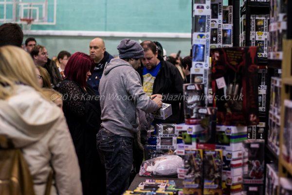 Vendors at Wales Comic Con 2016 Part 2