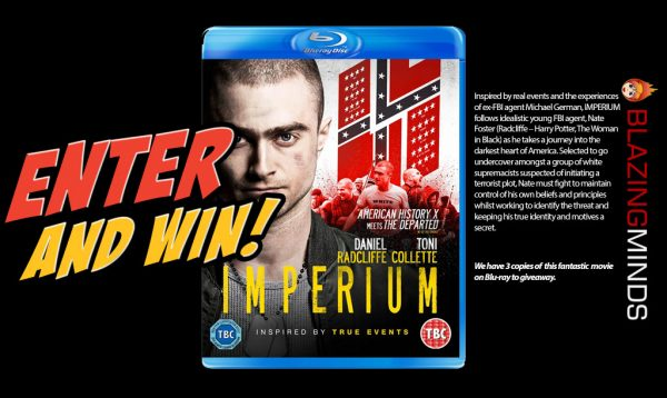 Win Imperium starring Daniel Radcliffe on Blu-ray