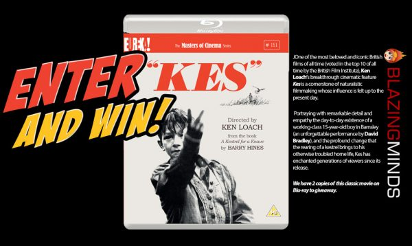 Win Ken Loach's KES on Blu-ray