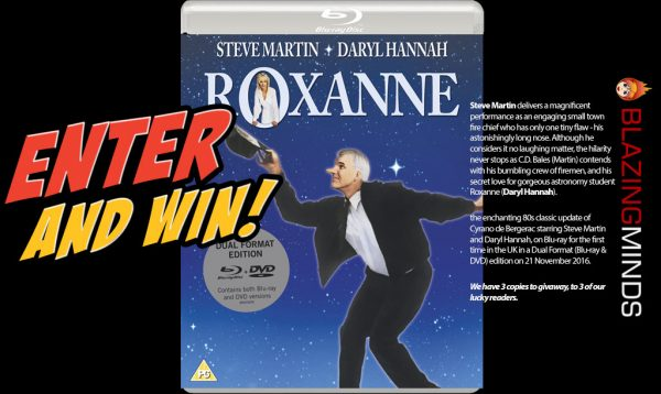 Win Roxanne on Dual Format Blu-ray & DVD
